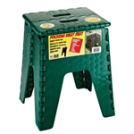 "B & R Plastics 15"" Neat Seat/Step - Forest Green"