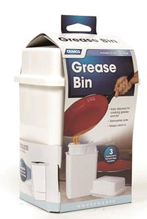 Camco 42281 RV Grease Storage Container