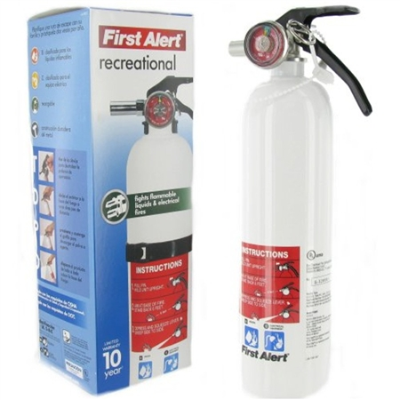 BRK Electron REC5 First Alert RV Fire Extinguisher - 5-B:C