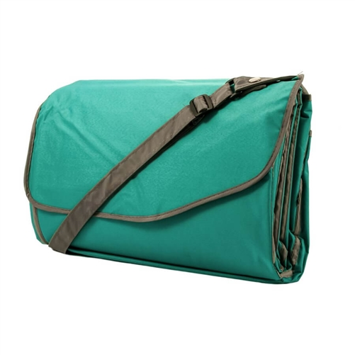 Camco 42807 RV Picnic Blanket With Strap - Teal