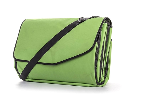 Camco 42808 RV Picnic Blanket With Strap - Chartreuse