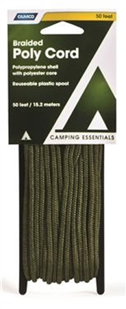 Camco Cord-Poly Green, 50'