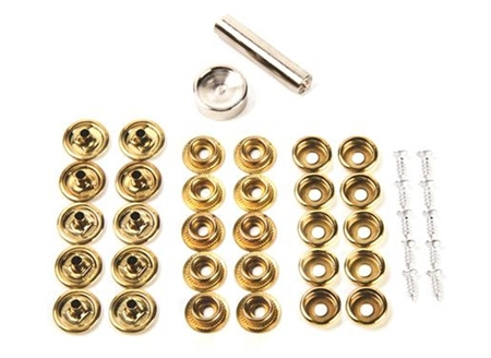 Camco Snap Fastener Kit, 10Pk