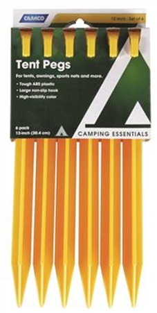 Tent Stakes-12""