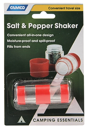 Camco Travel Salt and Pepper Shaker