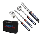 Magma Products A10-132T 5 Piece Telescoping Grill Tool Set