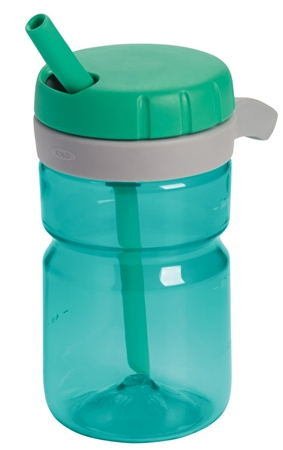 OXO 9102300 Strive 12 oz. Travel Propel Water Bottle - Emerald Green