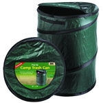 Coghlan's 1219 Portable Pop-Up Camping Trash Bin - Green