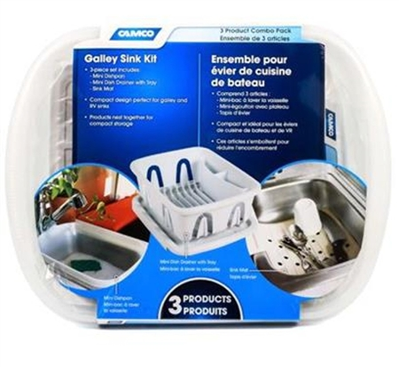 Camco 43517 RV Sink Kit - White