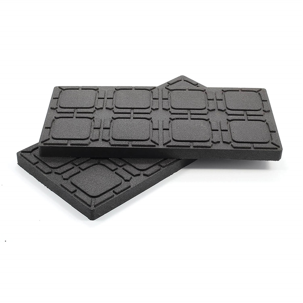 Camco 44601 Universal Flex Pads For Leveling Blocks 8 5 X 17 2 Pack