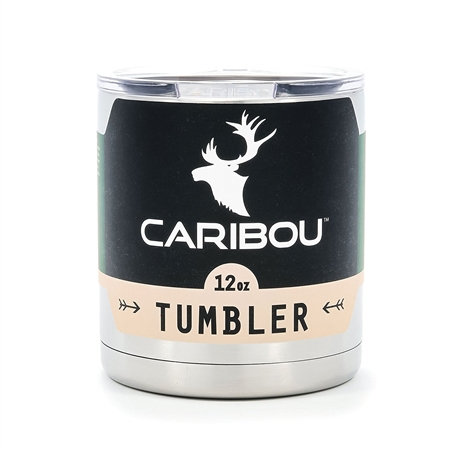 Caribou 51860 Stainless Steel Tumbler - 12 Oz