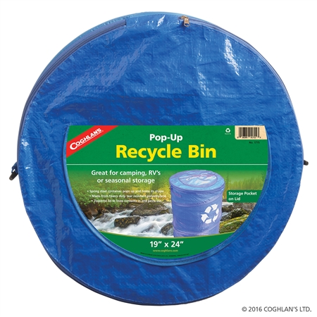 Coghlan's 1715 Portable Pop-Up Camping Recycle Bin