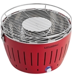 Lotus Grill G340 Smokeless Charcoal RV Grill - Red