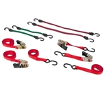 Performance Tool W1417 Tie Down & Bungee Set - 8 PC