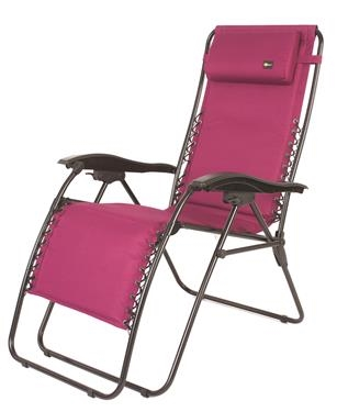 Faulkner 52292 Malibu Recliner Chair XL - Fuchsia