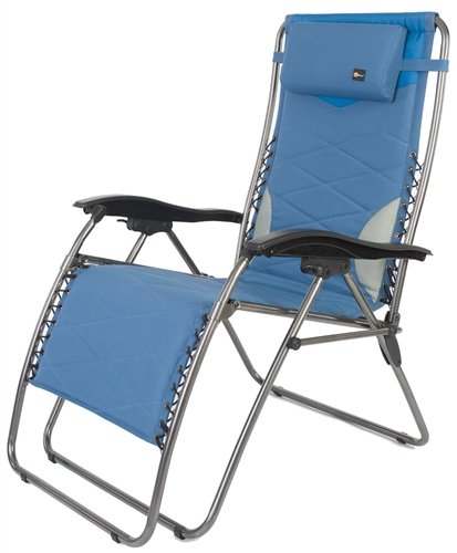 Faulkner 52296 Catalina Style Blue RV Recliner Chair