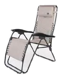 Faulkner 52297 Catalina Style Gray RV Recliner Chair XL