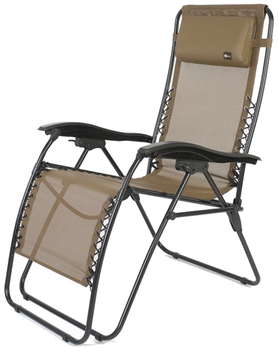 Faulkner 52299 Malibu Tan Mesh Recliner Chair