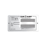 Safe-T-Alert 65-542-WT Flush Mounted RV Carbon Monoxide Detector - White