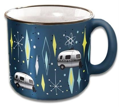 Camp Casual CC-004VB Vintage Blues Travel Mug