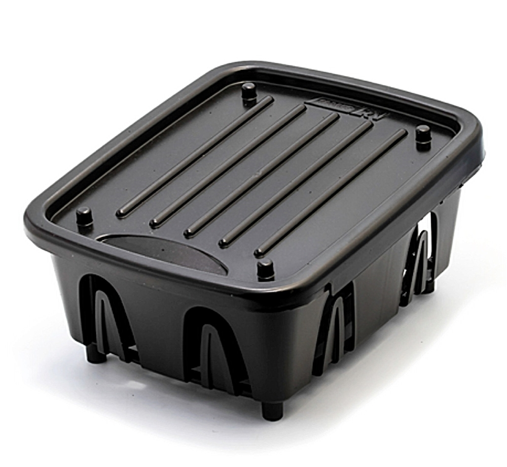 Camco 43512 Rv Mini Dish Drainer And Tray Black