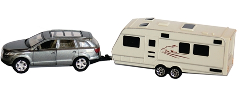 Prime Products SUV and Trailer Die Cast Collectible