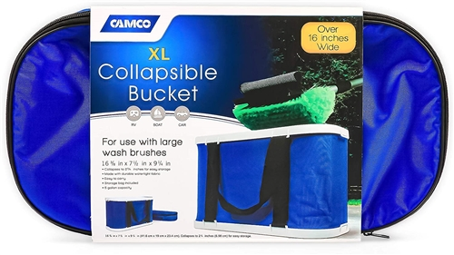 Camco XL Collapsible Bucket