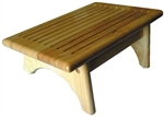 Prime Products 32-0401 Wooden Foot & Step Stool