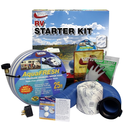 Valterra 03-5010LOT2 Economy RV Start Up Sanitation Kit