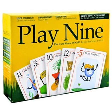 Bonfit P11001 Play Nine Card Golf Game