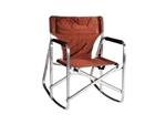 Ming's Mark SL1205-BROWN Rocking Director Chair - Brown