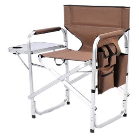 Ming's Mark SL1204-BROWN Folding Director's Chair