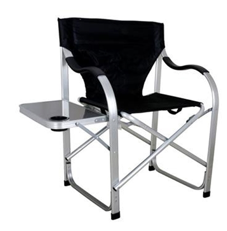 Ming's Mark SL1214 Heavy Duty Folding Director's Chair- Black