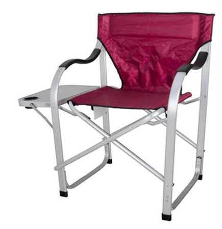 Ming's Mark SL1215 Heavy Duty Burgundy Folding Director's Chair
