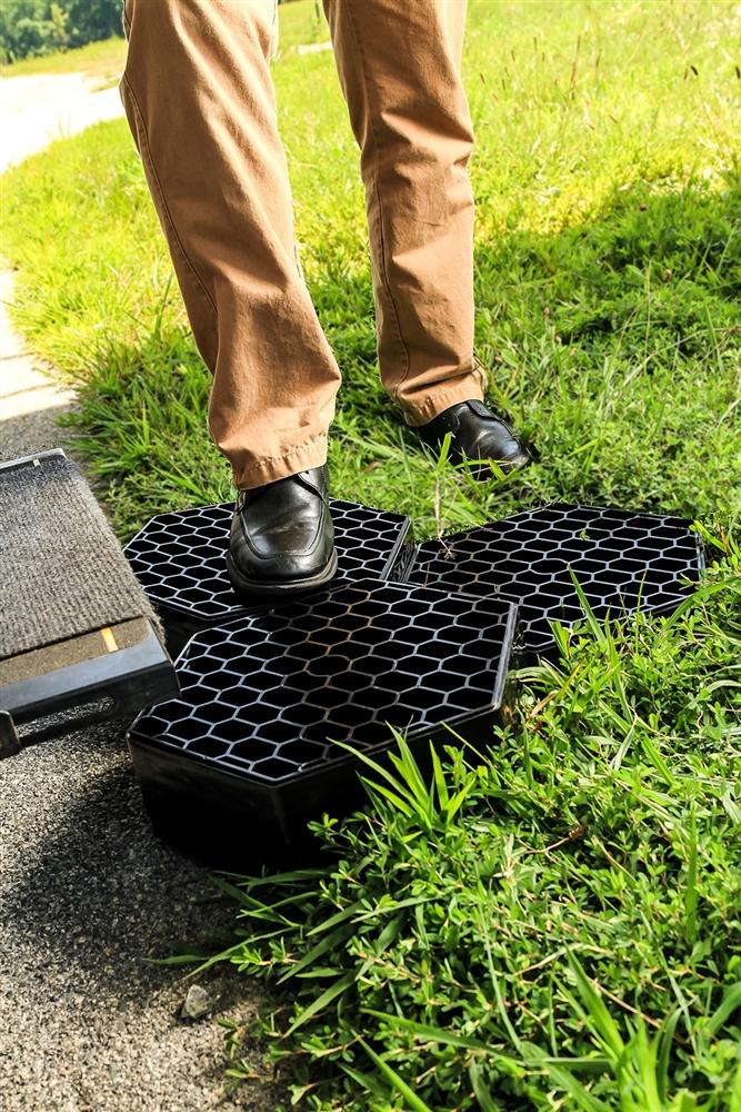 Camco 44530 Fasten Rv Portable Footpath