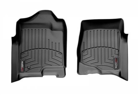 Black Floor Liner Front - 2007 to 2013 Chevy/GMC/Cadillac