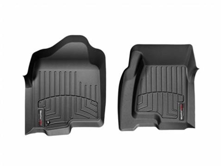 WeatherTech Floor Liner Front Black - 1999 to 2007 Chevy/GMC/Cadillac