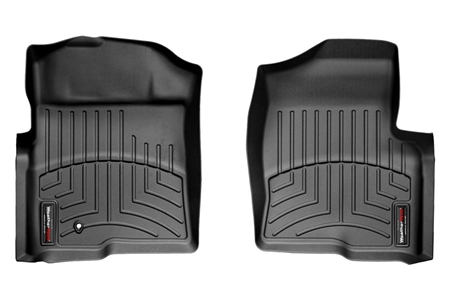 WeatherTech Floor Liner Front Black - 2009-2010 Ford F-150