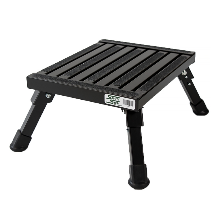 Marvelous Safety Step S 07C Blk Small Folding Step Stool Black 7 Onthecornerstone Fun Painted Chair Ideas Images Onthecornerstoneorg