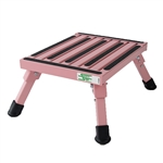 Safety Step S-07C-P Small Folding Step Stool - Pink
