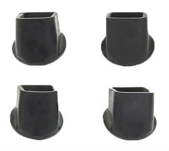 "Safety Step 21HD-30 Replacement Leg Tips for 8"" Stools"