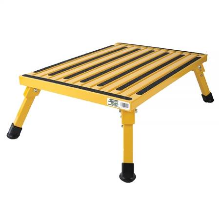 Safety Step XL-08C-Y Extra Large Safety Step Stool - Yellow