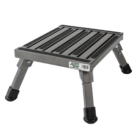 Safety Step S-07C Small Folding Step Stool - Silver Vein