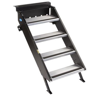 "MORryde STP-4-30-03H StepAbove 4-Step RV Entry Steps - 30"" Door Width"