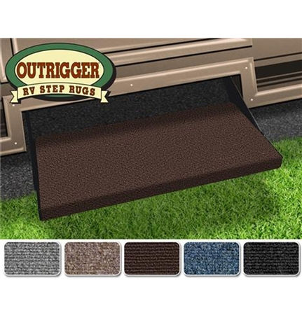 "Prest-o-Fit Outrigger 23"" RV Step Cover - Chocolate Brown"