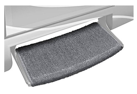 Prest-O Fit Outrigger 20383 Wraparound Radius XT RV Step Rug - Castle Gray