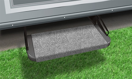 "2-0313 Outrigger 18"" RV Step Cover - Castle Gray"