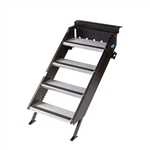 "MORryde STP-4-27-05H StepAbove 4-Step RV Entry Step - 26"" to 28"" Door Width"