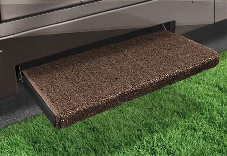2-1050 Jumbo Wraparound Plus RV Step Rug - Espresso