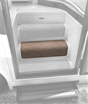 "Prest-o-Fit 5-0072 23"" Step Hugger for RV Stair Steps - Butter Pecan"